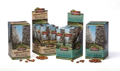 Mariani Nut Displays New Snack-Size Almond Packs
